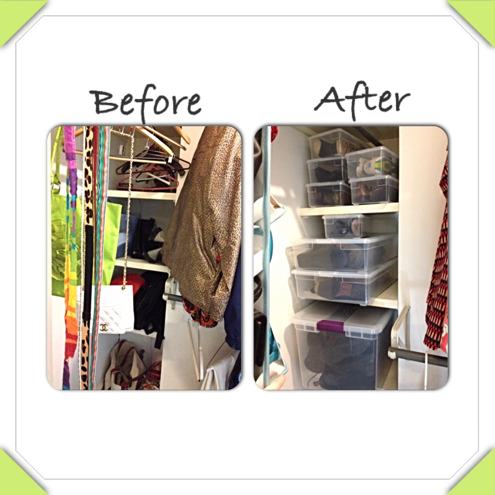Before And After Another Master Closet Simply Home Aid