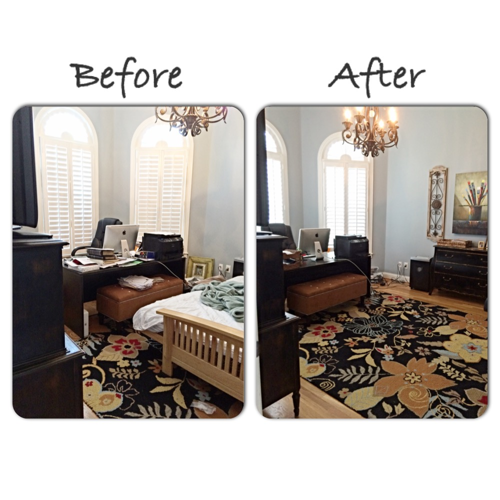 Before and after pre renovation office project simply for Renovation projects before and after